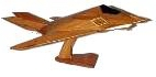 f 117 stealth wooden model airplane wooden model aircraft mahogany wooden model