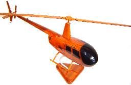 Robinson 44 wood wooden helicopter model