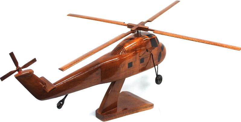 Wooden Ch-34 Choctaw Model