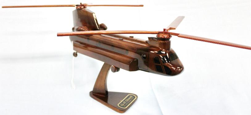 CH-47 Chinook Wood model