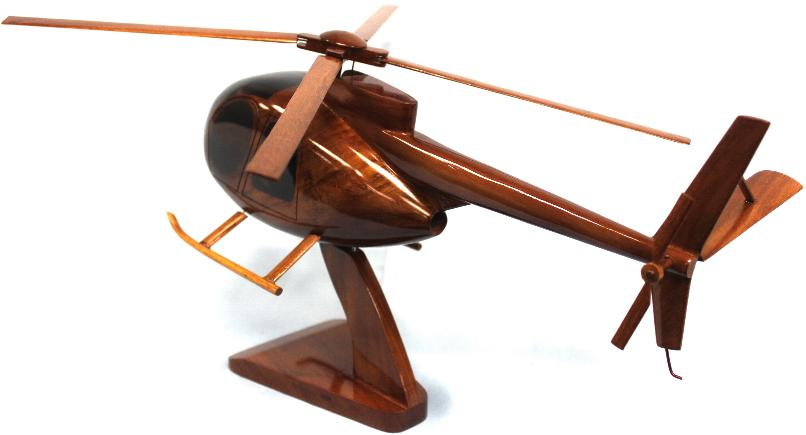 Oh-6 Cayuse Model Wood