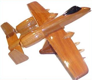 wooden airplane models, aircraft models, mahogany model airplanes,