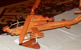 CH-46 Sea Knight Personalized Laser Engraved Model Helicopter