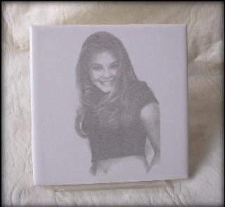 Laser engraved  Tile photos