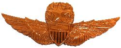 Master Army Aviator Wings Wall Plaque