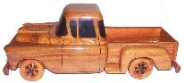 Wood Wooden mahogany desktop car model