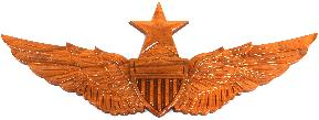 Senior Army Aviator Wings Wall Plaque